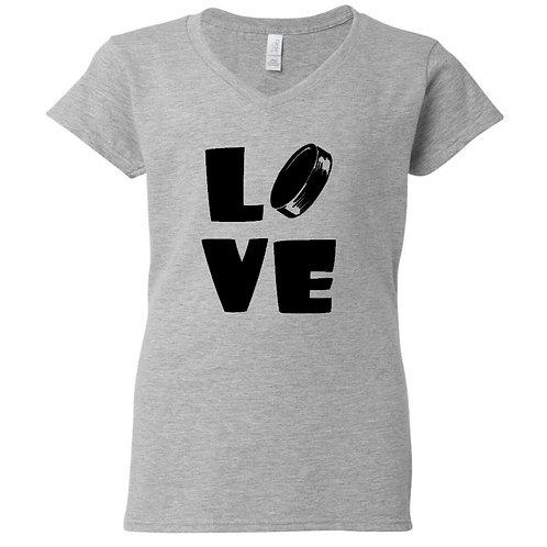 Hockey Love Ladies T-Shirt