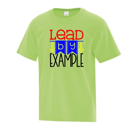 Lead By Example Positivity Kids T-Shirt