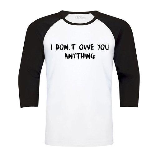 Baseball Shirt - Custom Design