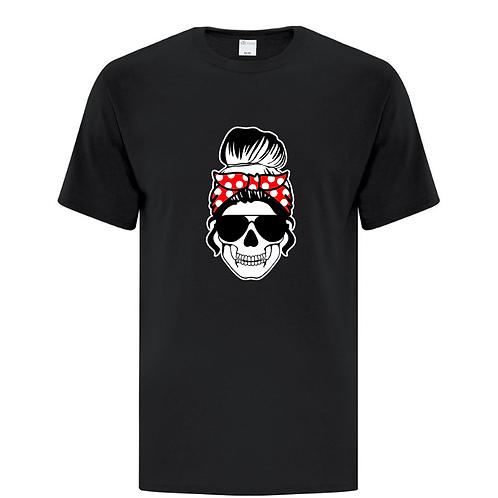 Bandana Skull Goth Halloween Unisex T-Shirt