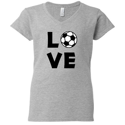 Soccer Love Ladies T-Shirt