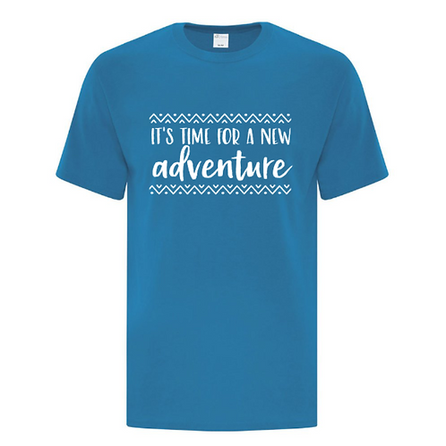Time For A new Adventure Unisex T-Shirt