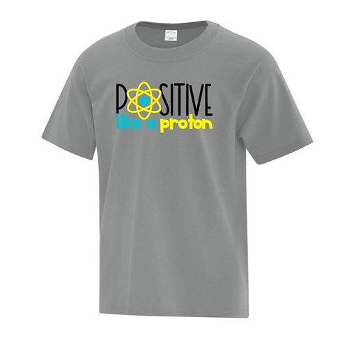 Positive Proton Positivity Kids T-Shirt
