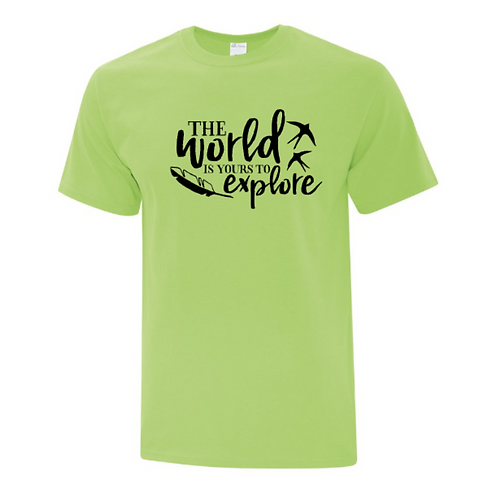 World Is Yours To Explore Unisex T-Shirt