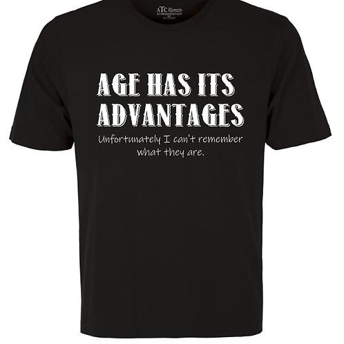 Age Has Is Advantages Unisex T-Shirt