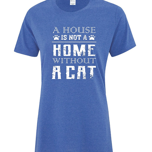 House Home Cat Ladies Fit T-Shirt