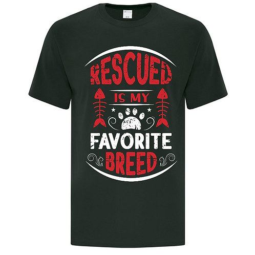 Rescued Cats Unisex T-Shirt