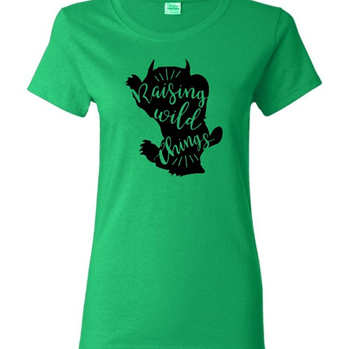 Raising Wild Things Mom T-Shirt