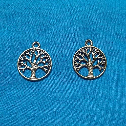Forbidden Tree Bronze 22mm Long Charm