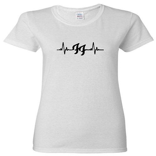 FF Heartbeat Ladies Fit T-Shirt