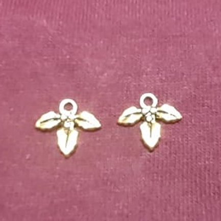 Holly Gold 12mm Long Charm