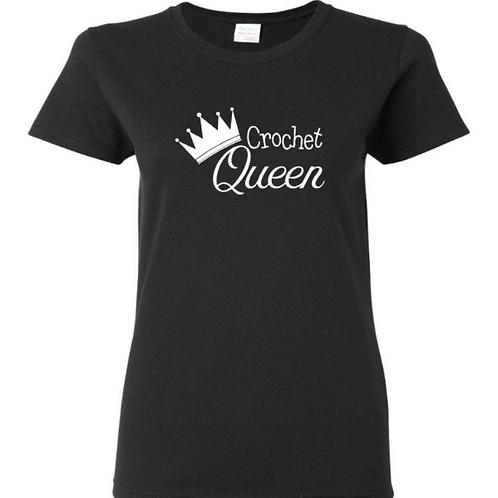 Crochet Queen Crafters T-Shirt