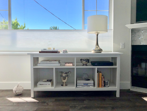 How to Effortlessly Style Shelves