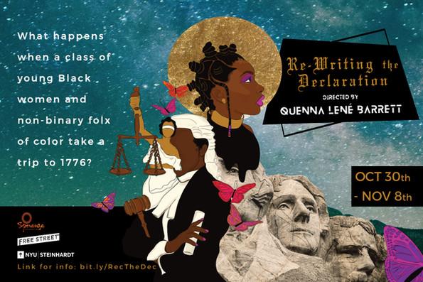 """Re-Writing the Declaration"" - NYU Steinhardt and Free Street Theater"