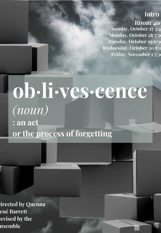 """ob/li/ves/cence"" - The Theatre School at DePaul University"