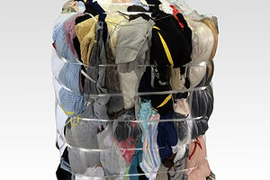 Used Clothes Raw Material Bale