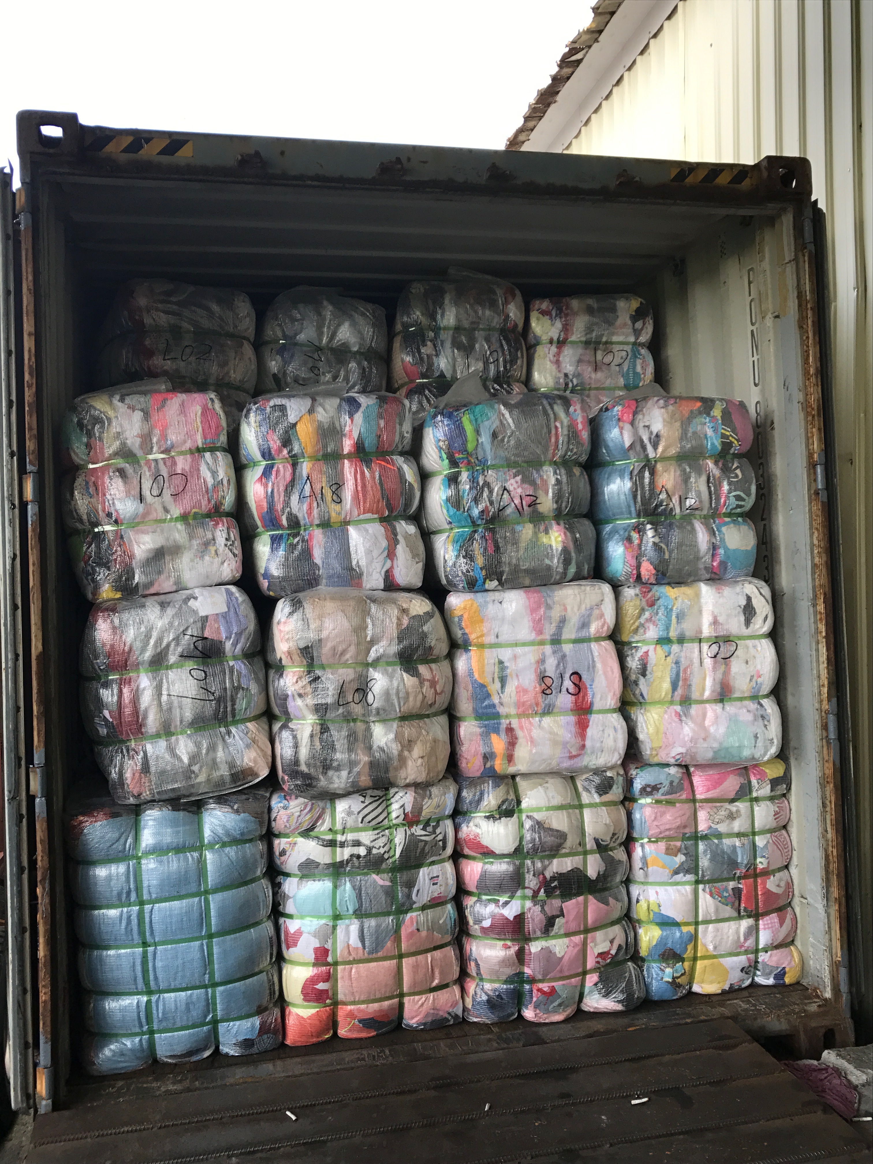 Sorted Used Clothes Bale