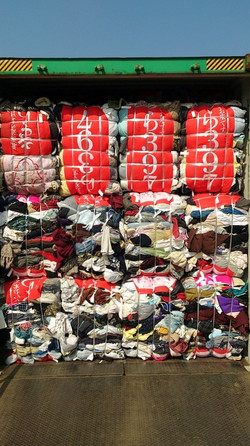 Secondhand Clothing Raw Material