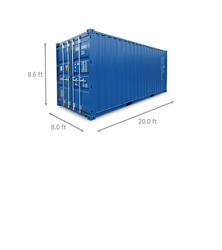 20ft Container for Second hand Clothes Wholesale