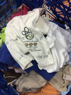 Children's Sorted Used Clothes