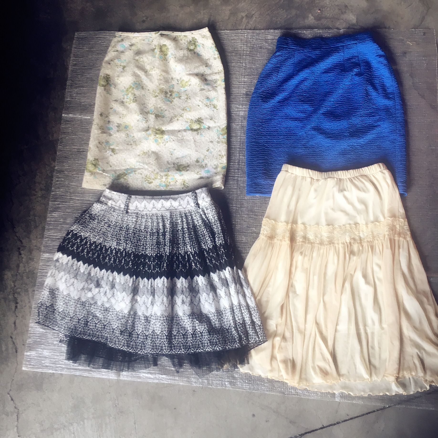 Lady's Sorted Used Clothes