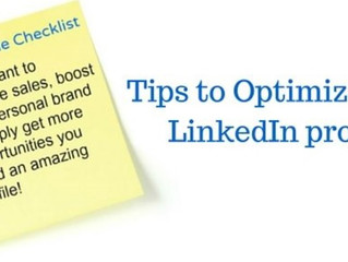 Key tips to optimize your LinkedIn profile