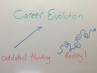 The squiggly line of Careers
