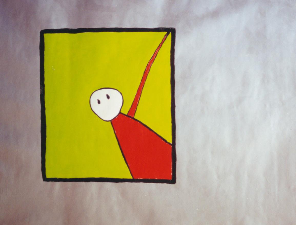 Persona y Ventana - (Person and Window)