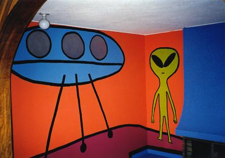Alien Mural