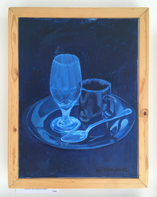 Acrylic on canvas / $100