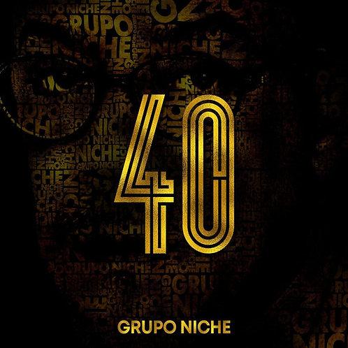 Cd Grupo Niche 40 años
