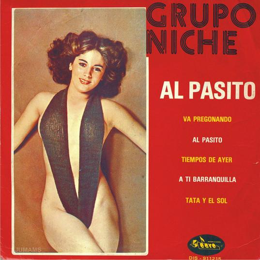 Caratula del primer album del Grupo Niche