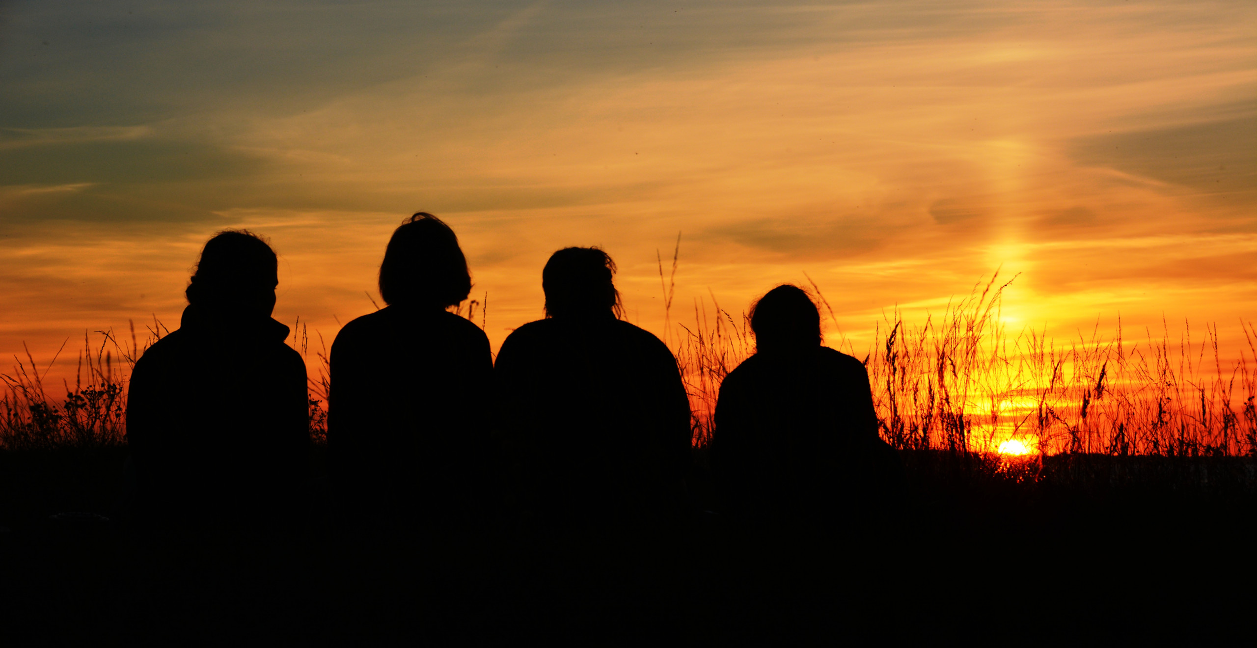 Der Freibund Estland Großfahrt Abendstimmung Sonnenuntergang