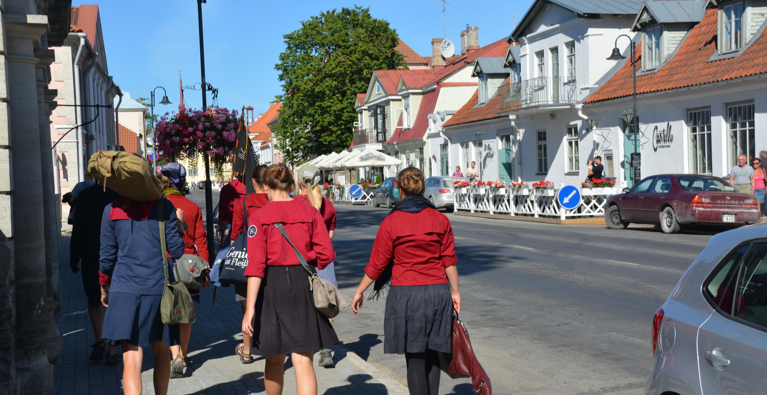 Der Freibund Estland Großfahrt