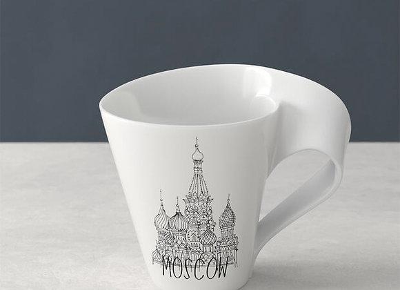 Moskau Modern Cities Tasse Kaffeebecher 300ml