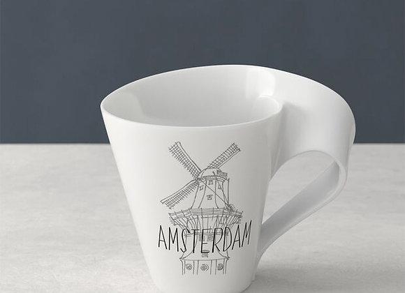 Amsterdam Modern Cities Tasse Kaffeebecher 300ml