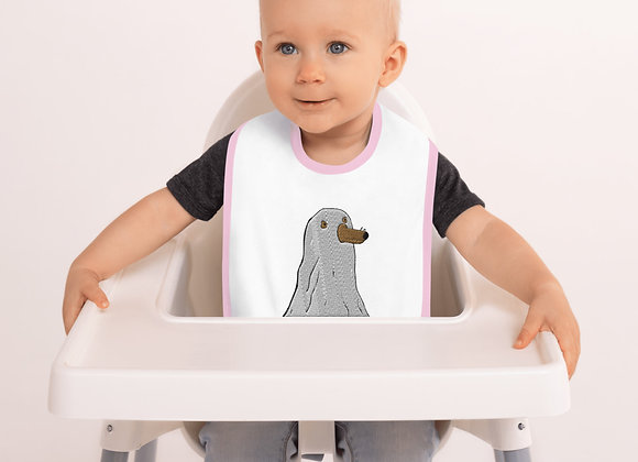 Besticktes Babylätzchen
