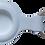 Thumbnail: weiss Silikon Metallring Anhänger Halter für Apple AirTag 2021