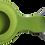 Thumbnail: grün Silikon Metallring Anhänger Halter für Apple AirTag 2021