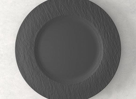 Manufacture Rock Speiseteller schwarz matt