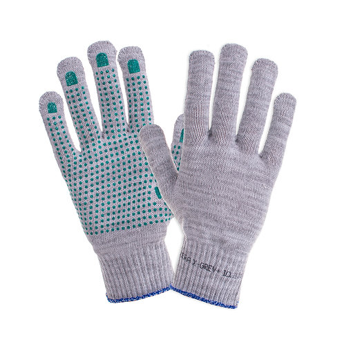 Rękawice bawełna 70% X-GREY PLUS