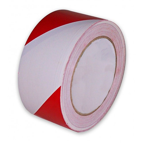 Taśma ostrzegawcza biało-czerwona 200m