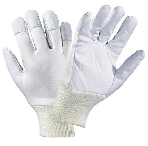 Rękawice ze skóry licowej koziej