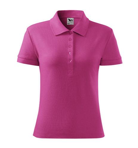 Koszulka polo damska bawełniana