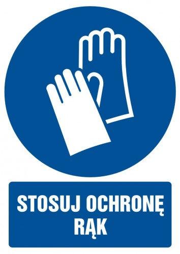 Stosuj ochronę rąk