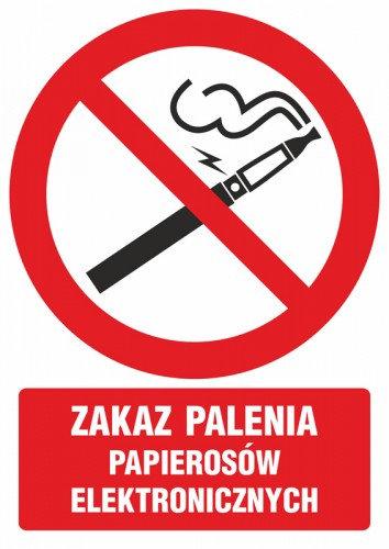 Zakaz palenia papierosów elektronicznych