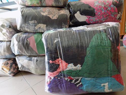 Czyściwo kolorowe bawełniane niecięte STANDARD MIX