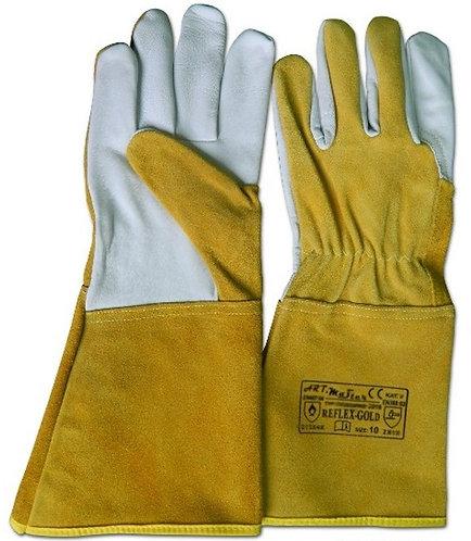Rękawice spawalnicze z miękkiej koziej skóry