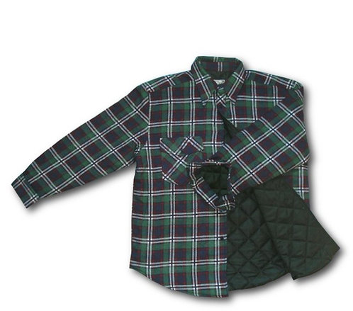 Zimowa koszula flanelowa