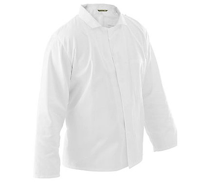 Bluza rozpinana męska Krajan Biel HACCP